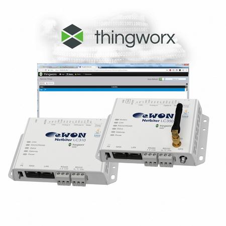 eWON® Netbiter LC –让设备实现与ThingWorx®的连接