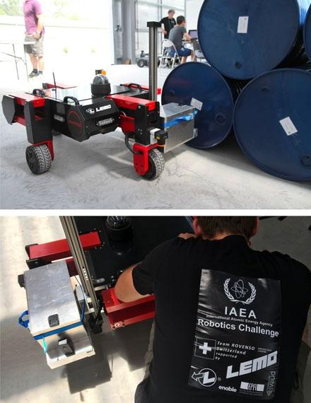 LEMO与IAEA机器人挑战赛