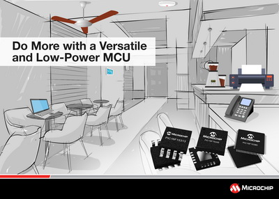 Microchip发布全新PIC MCU系列,更多CIP让设计越来越简单