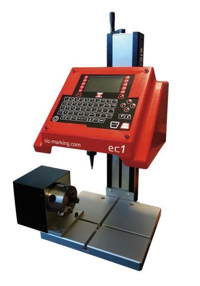 立柱式点针打标机新发现!西刻标识推出ec1新型点针打标系统