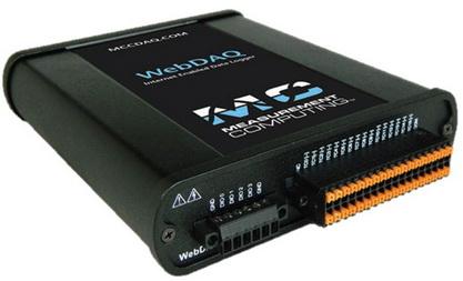 MCC即将推出全新产品线 WebDAQ 基于网络的数据记录仪