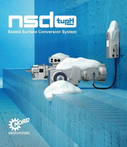 NORD, 用于饮料行业坚固耐用的可冲洗型驱动解决方案