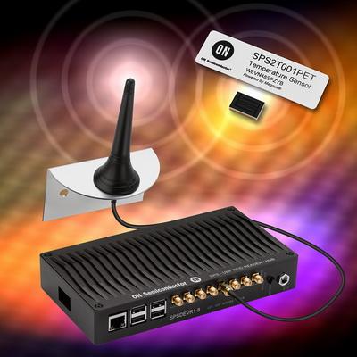 安森美半导体全新开发套件实现无电池的智能无源传感器™在物联网中的快速应用