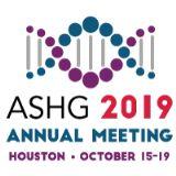 ASHG Meeting 2019