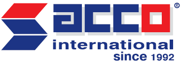 ACCO International Exhibition Center logo