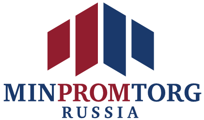 Minpromtorg of Russia - The Ministry of Industry and Trade of the Russian Federation logo