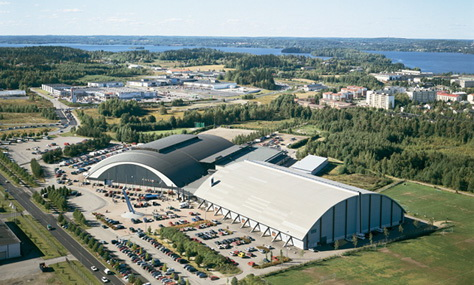 Tampere Exhibition and Sports Centre TESC