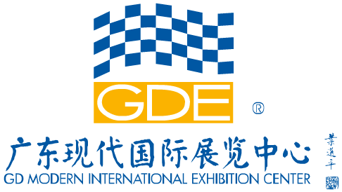 Guangdong Modern International Exhibition Center (GDE) logo