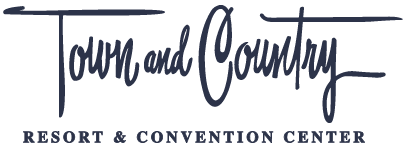 Town & Country Resort and Convention Center logo