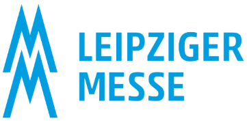 Leipziger Messe GmbH Leipzig Exhibition Grounds logo