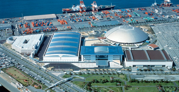 Portmesse Nagoya (the Nagoya International Exhibition Hall)