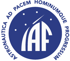 International Astronautical Federation (IAF) logo